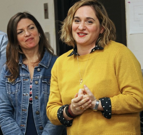 Director Kimberly Senior (left) and playwright Alix Sobler hadn't met before this project but now see themselves as an inseparable sister act. Photo: A'riel Tinter