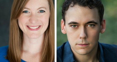 Amanda Drinkall, a Chicago actor, and John Skelley from New York play Evelyn and Leonard Kirsch, the couple based on the Krauses.