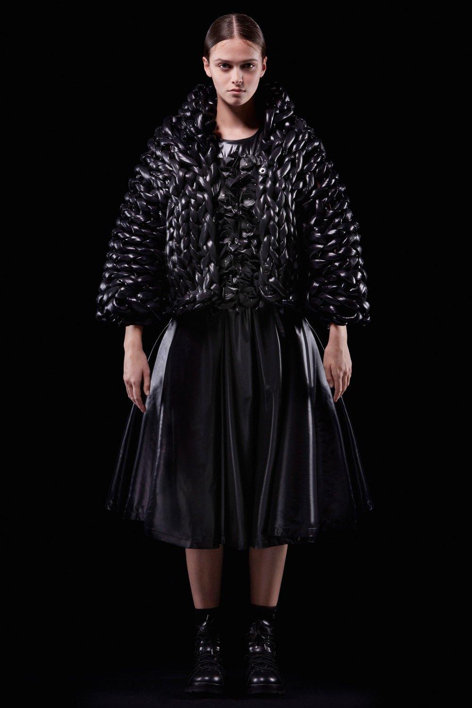 Moncler 6 Noir Kei Ninomiya Fall 2018 Ready-to-Wear