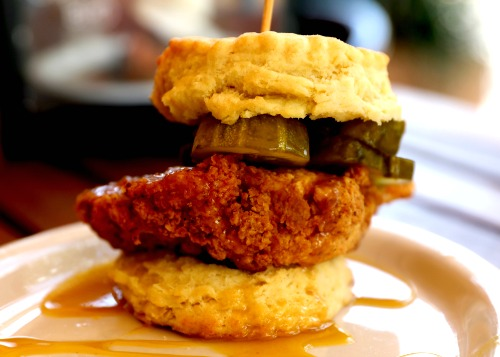One choice of many at Maple Street Biscuit Co., open now in Woodstock and coming soon to Alpharetta. Photo: David Danzig