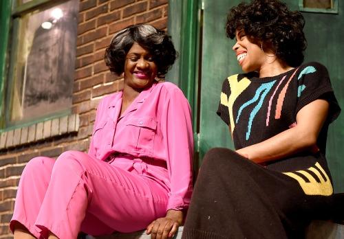 Tonia Jackson (left), Tiffany Denise Hobbs. Photo: Horne Bros. Photography