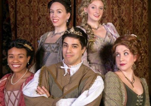 Tatyanna Arrington (bottom, from left), Chris Hecke, Kelly Criss. Top, from left: Amanda Lindsey, Sarah Newby Halicks.