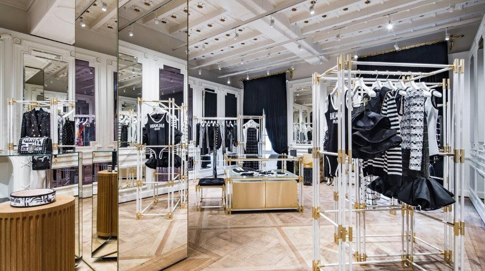 fa8bd326268 BALMAIN OPENS ITS FIRST ITALIAN FLAGSHIP IN MILAN — menswear ...