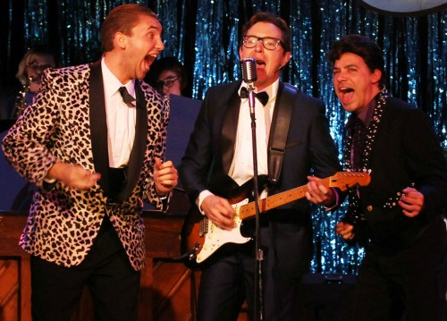 Ethan Ray Parker (from left), Jeremy Aggers, Ricardo Aponte. Photo: Dan Carmody / Studio 7