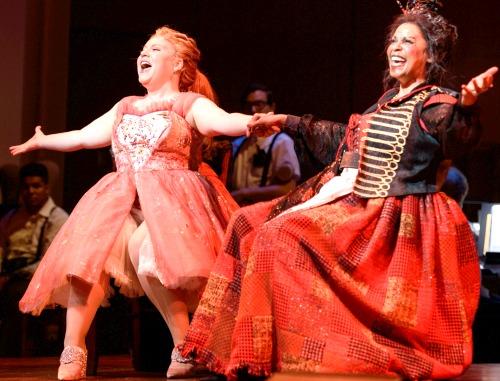 Alexandra Schoeny (left) and Terry Burrell. Photo: Greg Mooney