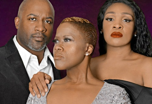 Kevin Harry, Latrice Pace, Jasmyne Hinson. Photo: Actor's Express