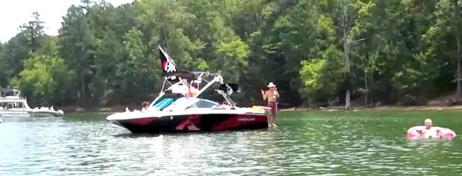 Lake Allatoona — 12,000 acres of fun near Cartersville — is about an hour's drive away.