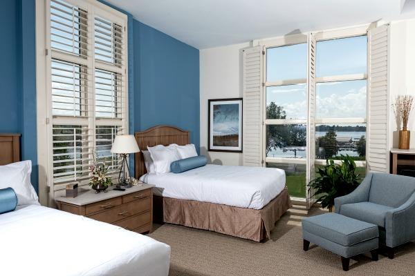 Accommodations at Lake Blackshear Resort & Golf Club. Photo: Lake Blackshear Resort