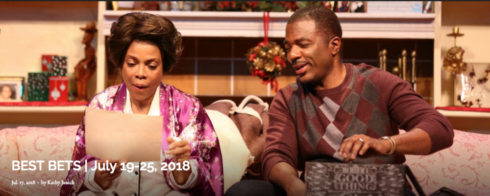"""""""The Color Purple"""" (Actor's Express) and """"Titanic"""" continue and lead this week's curated edition of BEST BETS. Also worth noting: """"Dot"""" continues at True Colors, the """"The Book of Mormon"""" drops into the Fox Theatre and """"Newsies"""" opens at Aurora Theatre. Pictured: Denise Burse and Gilbert Glenn Brown in """"Dot"""" at True Colors. Photo: Brenda Nicole Photography."""