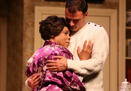 Denise Burse, Lee Osorio. Photo: True Colors Theatre