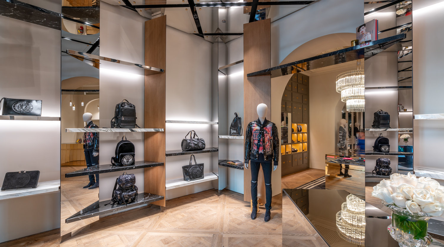 f67c02eacb6 Balmain opens flagship store in Miami — menswear womenswear fashion blog