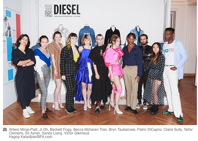 americans in paris cfda diesel fashionado