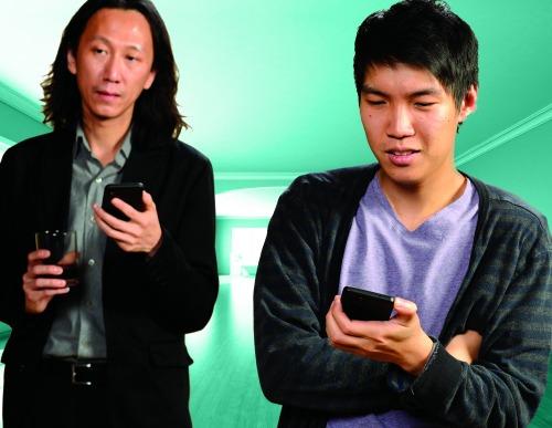 Wai Yim (left), Kevin Qian