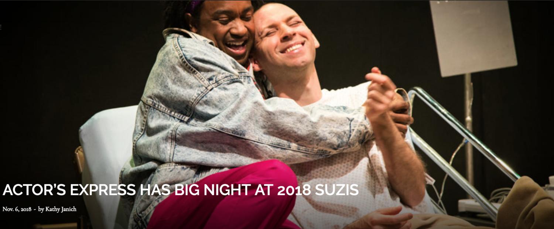 Angela Fuste actor's express has big night at 2018 suzis — encore atlanta