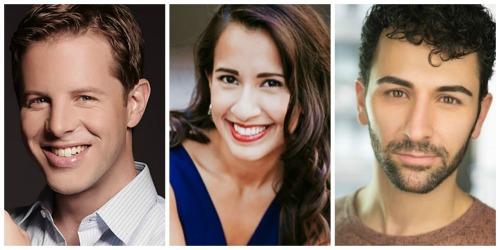 Andrew Bidlack (from left), Vanessa Becerra and DJ Petrosino sing Tony, Maria and Bernardo, respectively, for The Atlanta Opera.