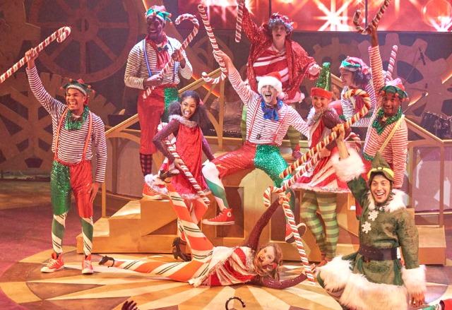 "The 2017 cast of Aurora Theatre's ""Christmas Canteen."" Photo: Chris Bartelski"