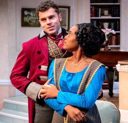 Justin Walker, Jasmine Thomas. Photo: David Woolf