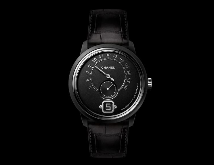 All-Black Take on Its Monsieur de CHANEL Watch