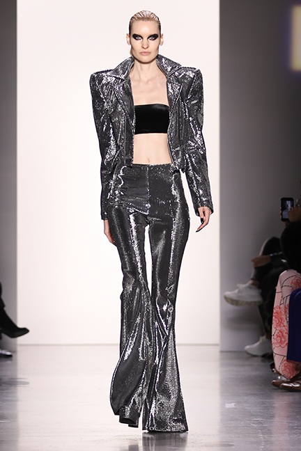 Hakan Akkaya S Glam Rock Collection Nyfw Fall Winter 2019 Fashion