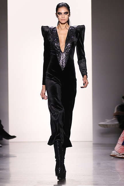 HAKAN AKKAYA'S GLAM ROCK COLLECTION – NYFW FALL/WINTER 2019