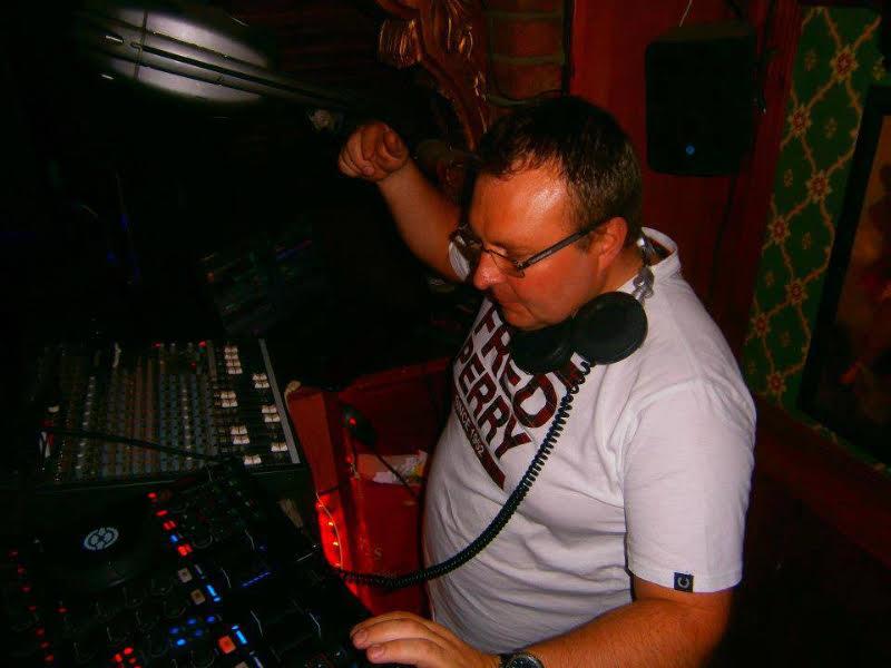 Event organiser Drew Hutchinson aka DJ Steady