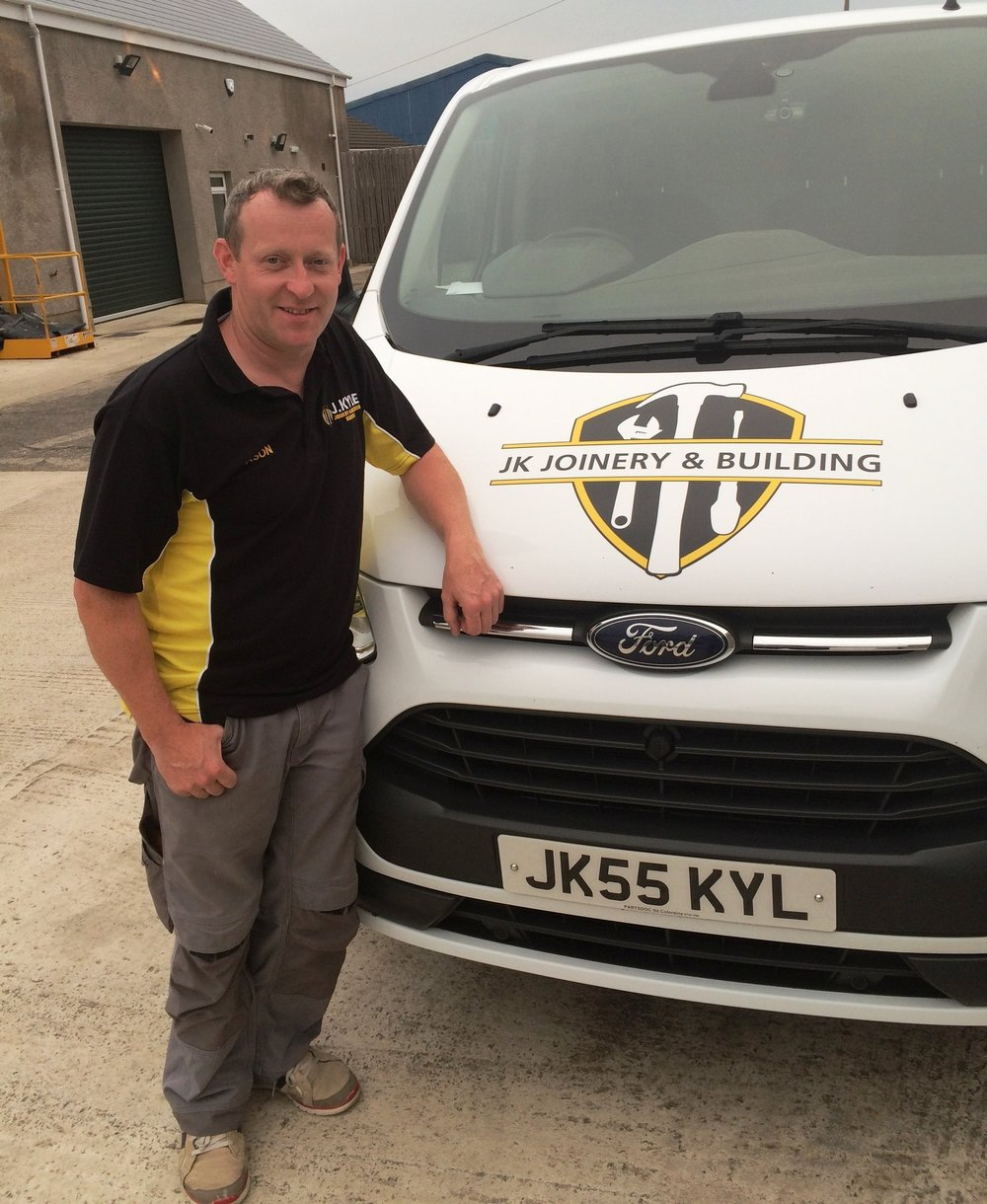 Jason Kyle, Director,JK Joinery and Building Services