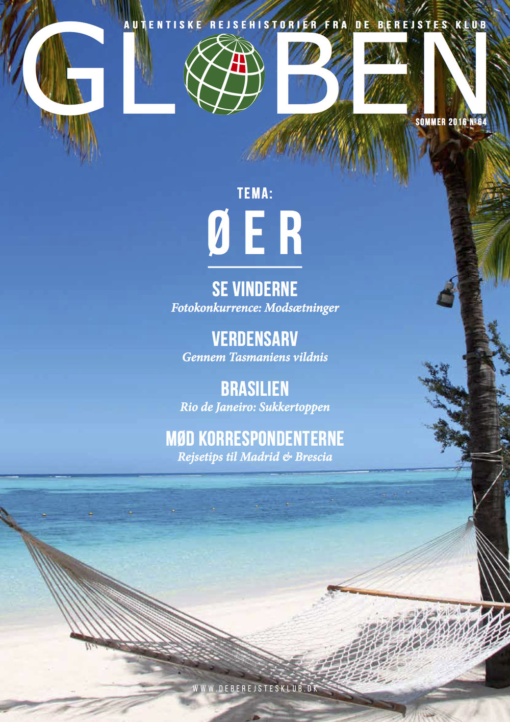 "Issue 64: Øer   The theme for this issue is travel stories on the islands across the world. Also, the winners of photo competition titled ""Contrasts"" are announced. Download the issue  here ."