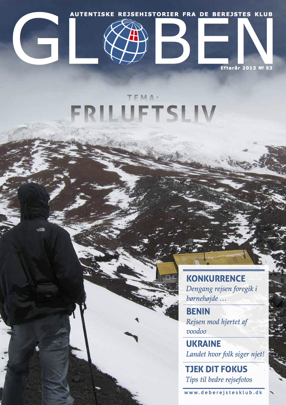 Issue 53: Friluftsliv   This Outdoors issue takes us to witness whale sighting in Qatar, hunting in the Amazon, cycling in Paraguay, climbing in Norway, Argentina, Chile, voodoos in Benin, and much more. Read them  here .