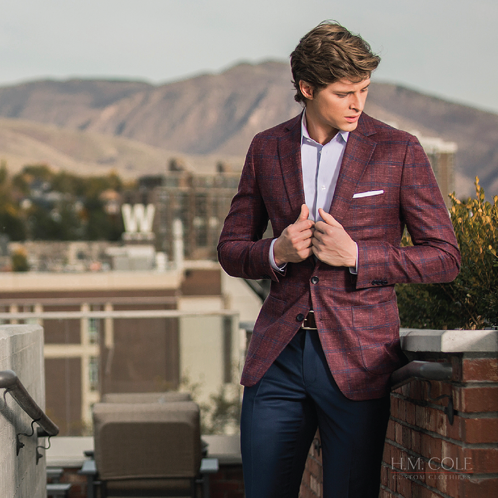 Why H. M. Cole? - The H. M. Cole Perfect Fit Guarantee. Let our style consultants help you achieve the perfect fit and make the right adjustments.Three Week Turnaround Times. Our 3 week turnaround times are the fastest in the business. Brand name Italian and English fabrics including Vitale Barberis Canonico, Drago, Dormeuil, Ariston, Ermenegildo Zegna, Canclini, and H. M. Cole Signature.Online ordering. Our online portal saves your measurements for fast, convenient orders.