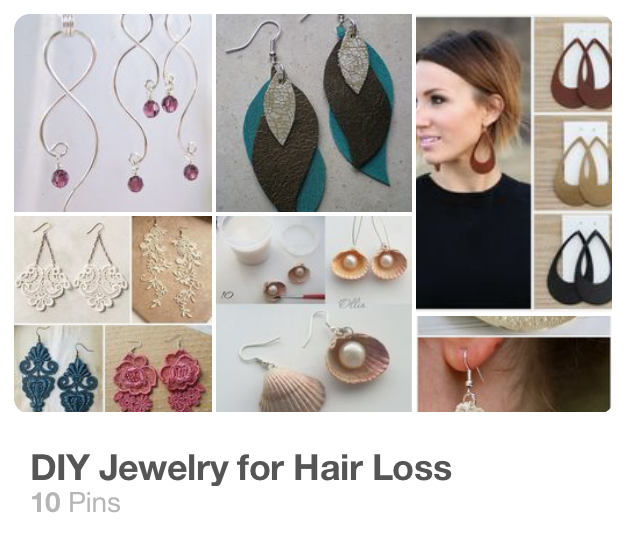 Jewelry for hair loss