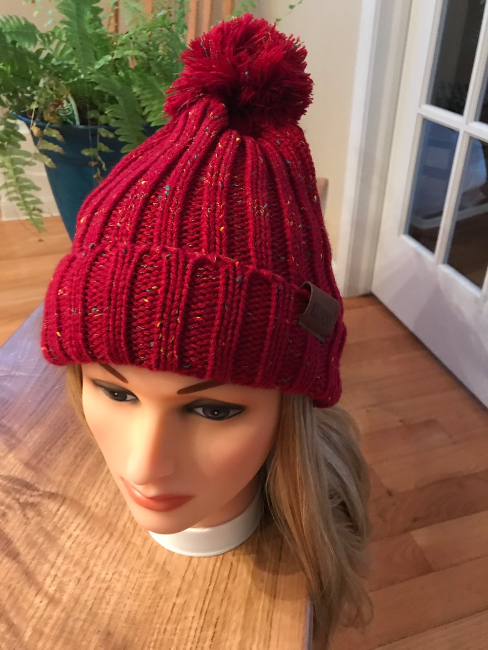 eb0bdae7c42 Winter hats with attached hair extensions — A Wig and a Prayer