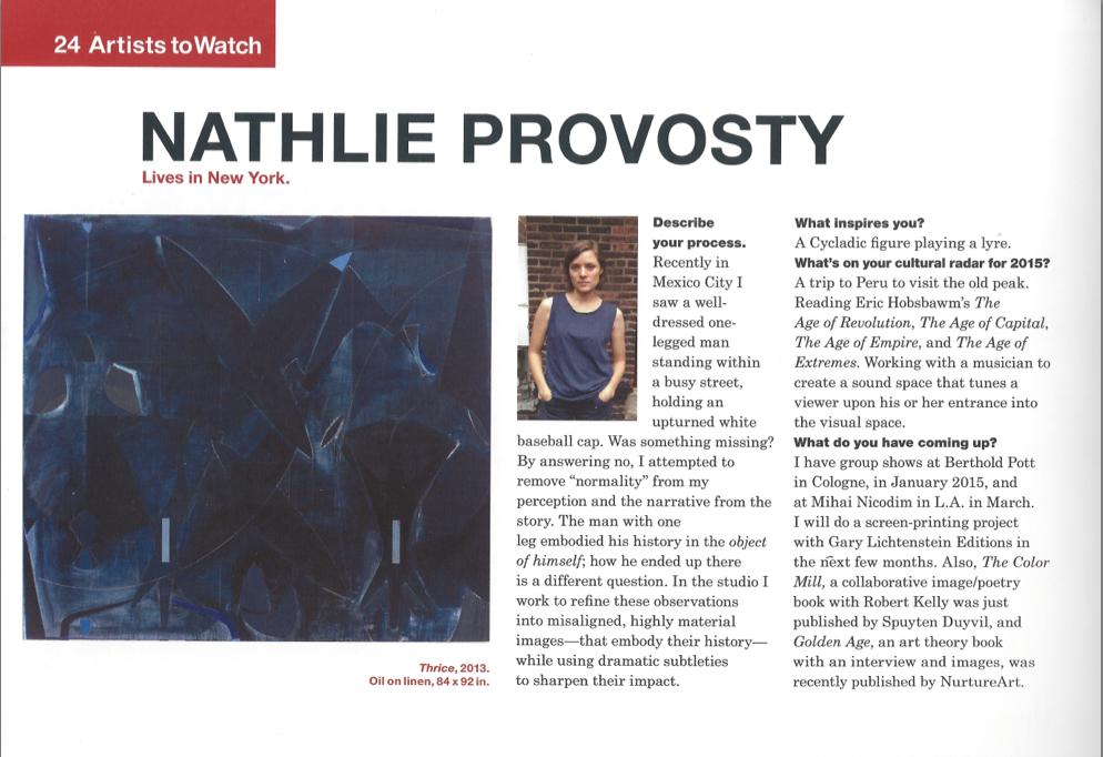 Nathlie Provosty Modern Painters