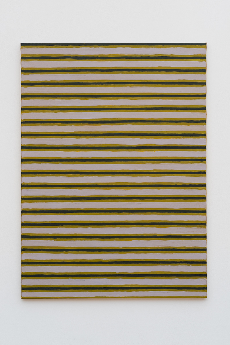 """""""Work C. 178"""" (1964)  Oil on canvas  39 3/8 x 28 3/4 in"""