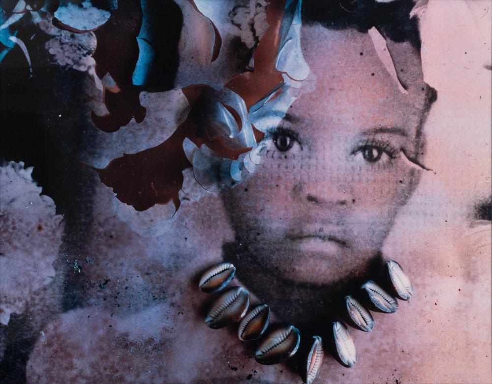 """The Cowry Necklace"" (1993)  Chromogenic Light Jet Print  61.5 x 48.38 in"