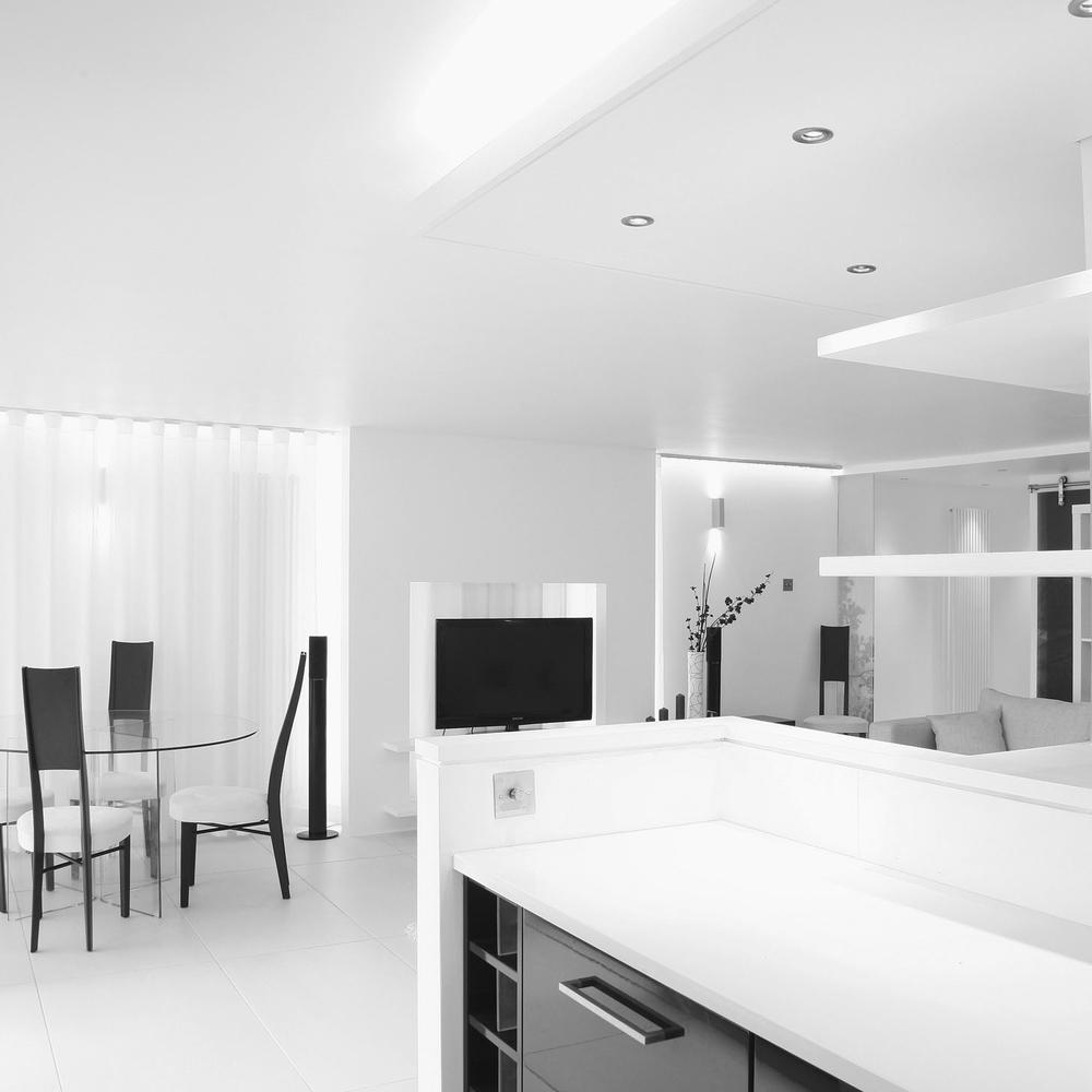modern contemporary apartment architect teddington river views