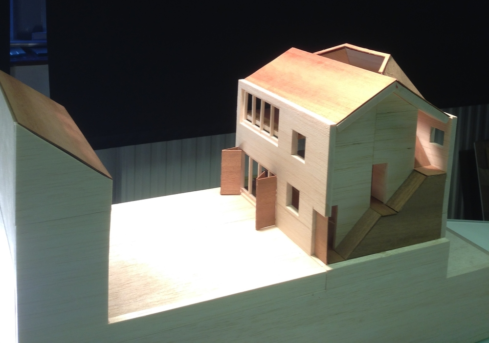 Modern Contemporary Architect Mew House Hyde Park London Model