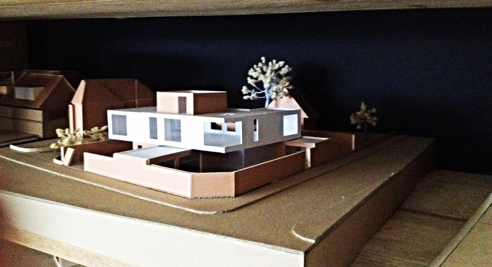Modern Contemporary Architect Weybridge St George's Hill Surrey House Model Concept