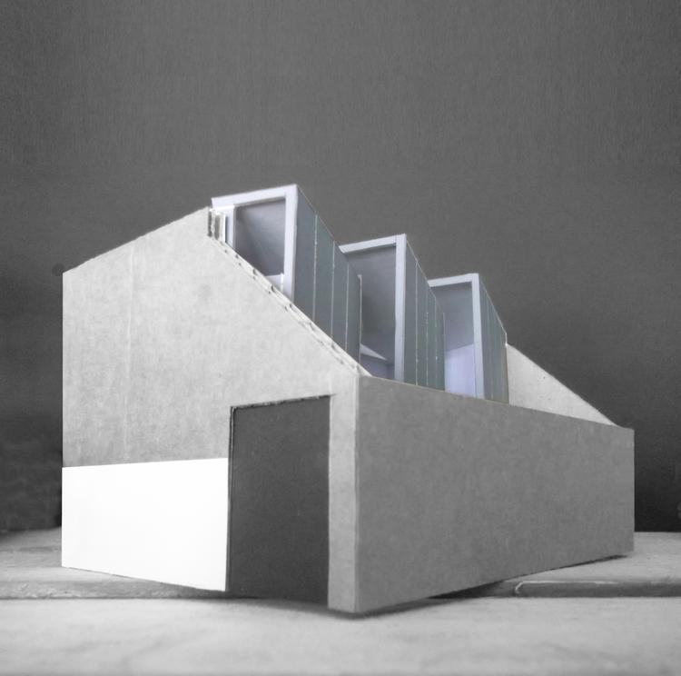 Modern Contemporary Architect House Richmond Surrey Zinc Garage conversion Conservation