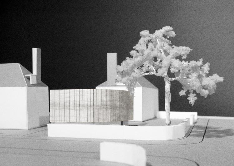 Modern Contemporary Architect London Model Corner Plot Concept