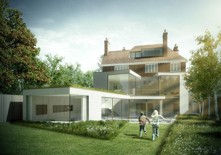 South West House, London — Fletcher rane rchitects - ^