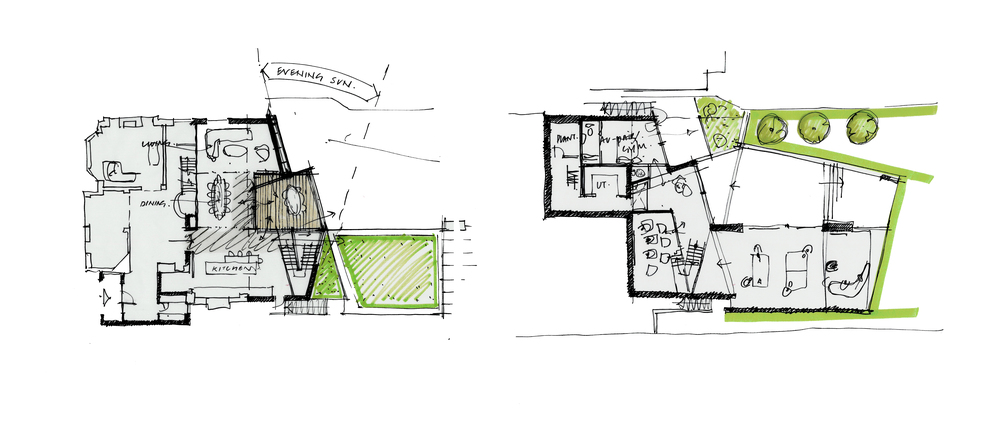 Modern Contemporary Architect House Putney Fulham London Plans Concept