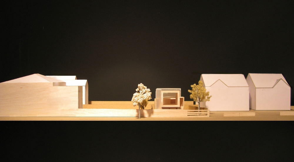 Modern Contemporary Architect House Richmond Surrey Model Concept