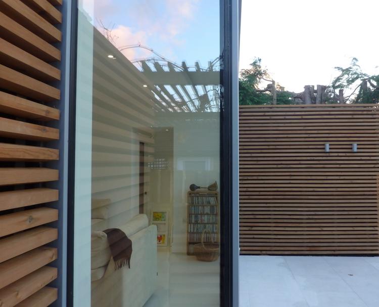 Modern Contemporary Fletcher Crane Architect Extension Hampton Court Surrey Wood Timber Cladding Window