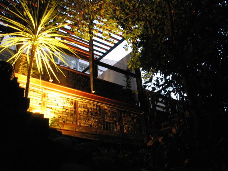 Modern Contemporary Fletcher Crane Architect Extension Teddington Surrey Night Psalm