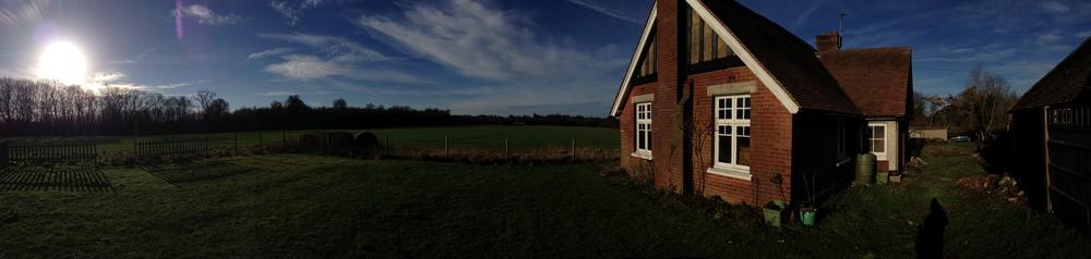 Modern Contemporary Fletcher Crane Architect House Extension Kent Site Photo Historic