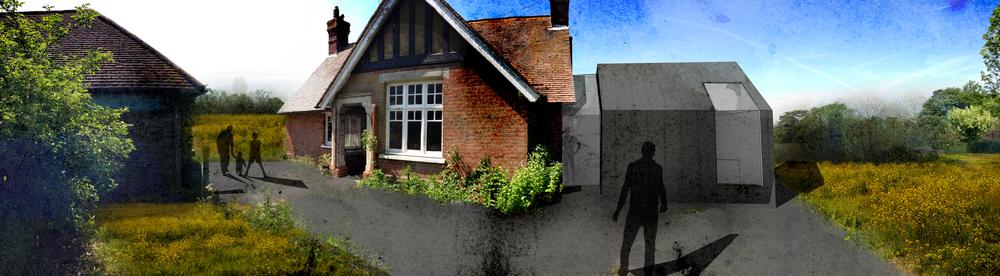 Modern Contemporary Fletcher Crane Architect Extension Zinc Knockholt Kent
