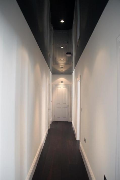 Modern Contemporary Fletcher Crane Architect Apartment Westminster London Decorated hallway