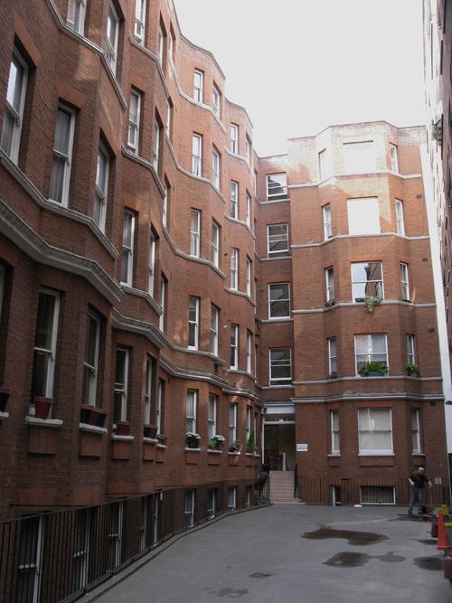 Modern Contemporary Fletcher Crane Architect Apartment Westminster London Building