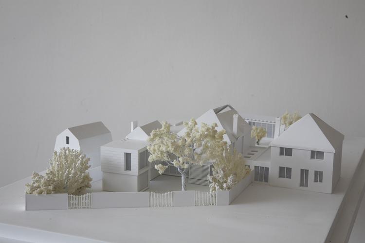 Modern Contemporary Fletcher Crane Architect House Extension Twickenham Surrey London Timber Glass Brick