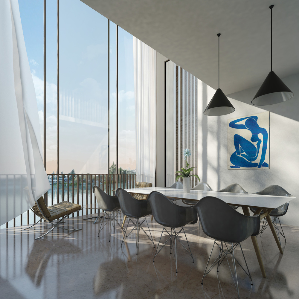 Lower ham road, kingston upon thames, surrey, fletcher crane architects, modern contemporary house, architecture